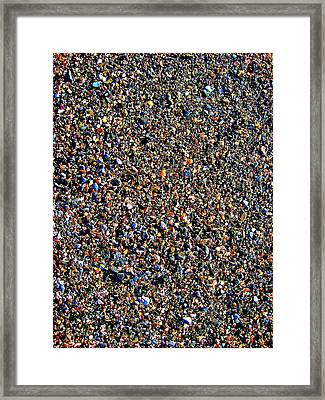 Canary Texture. Framed Print by Andy Za