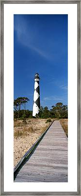 Cape Lookout Lighthouse, Outer Banks Framed Print by Panoramic Images