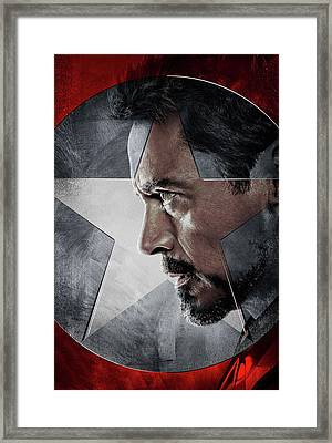 Captain America Civil War 2016 Framed Print