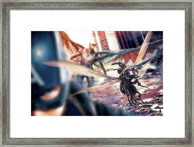 Captain America Civil War 2017 Framed Print