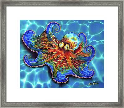 Caribbean Octopus Framed Print by Daniel Jean-Baptiste