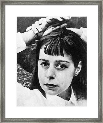 Carson Mccullers Framed Print