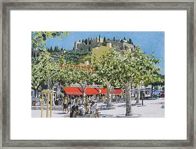 Cassis Sur Mer Framed Print by Constance Drescher