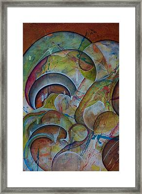 Cast Off Consciousness Series Framed Print by Joey Dott