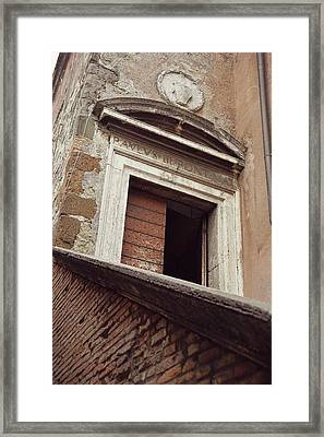 Castel Texture Art Framed Print by JAMART Photography