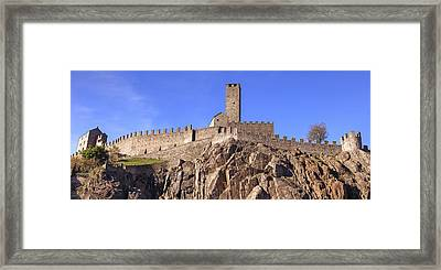 Castelgrande - Bellinzona Framed Print