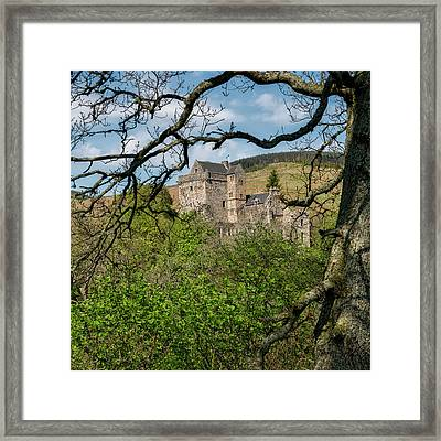 Castle Campbell In Central Scotland Framed Print