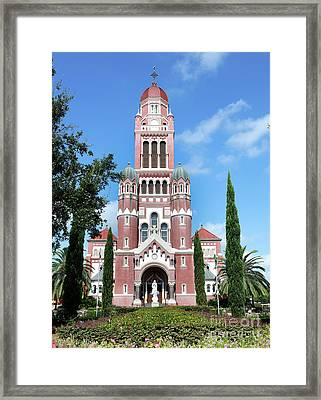 Cathedral Framed Print by Cecil Fuselier