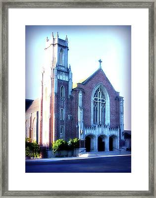 Cathedral Of The Annunciation 2 Framed Print by Terry Davis