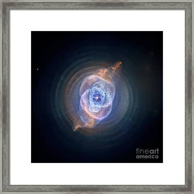 Cat's Eye Nebula Framed Print by Nasa