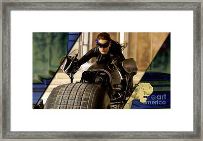 Catwoman Collection Framed Print by Marvin Blaine