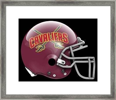 Cavaliers What If Its Football Framed Print by Joe Hamilton