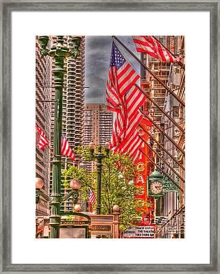 Celebrating Independence Framed Print