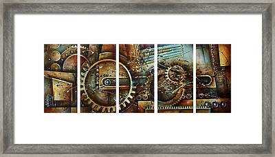Chaos Framed Print by Michael Lang