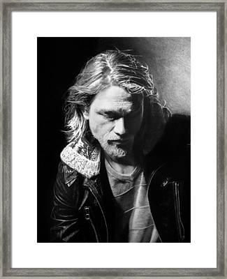 Charlie Hunnam Framed Print
