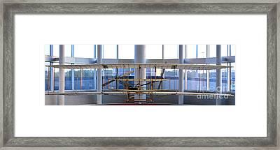 Charlotte Douglas International Airport Framed Print by David Oppenheimer