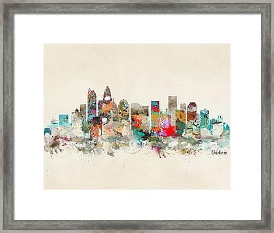 Charlotte North Carolina Framed Print