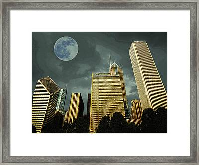 Framed Print featuring the photograph Chicago by Artistic Panda