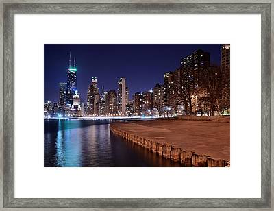 Chicago From The North Framed Print