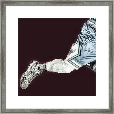 #chicagobulls #chicago #bulls #rose Framed Print
