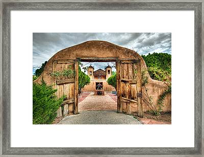 Chimayo Church Framed Print