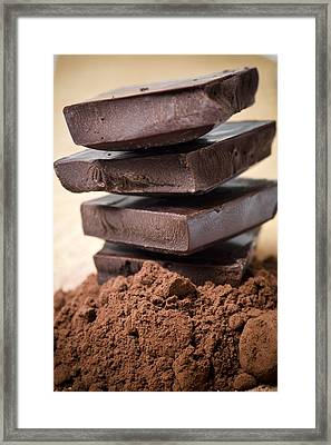 Chocolate Framed Print by Frank Tschakert