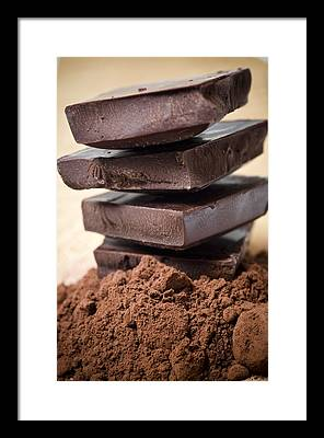 Chocolates Framed Prints