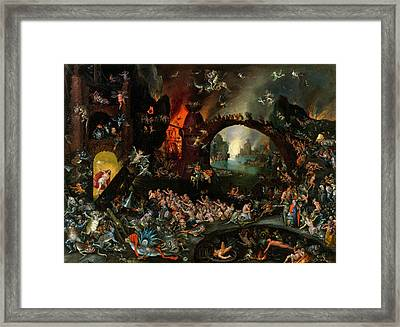 Christ In Limbo Framed Print