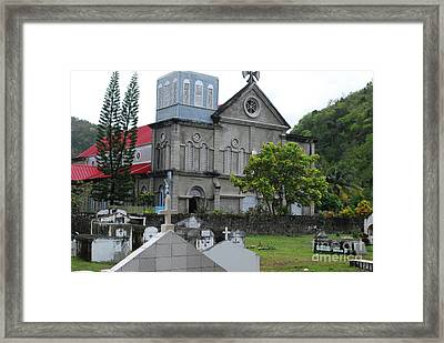Framed Print featuring the photograph Church by Gary Wonning