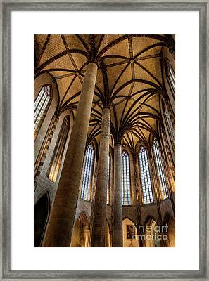 Church Of The Jacobins Interior Framed Print