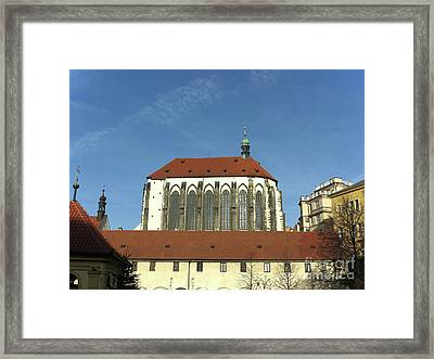 Framed Print featuring the photograph Church Of The Virgin Mary Of The Snow by Michal Boubin
