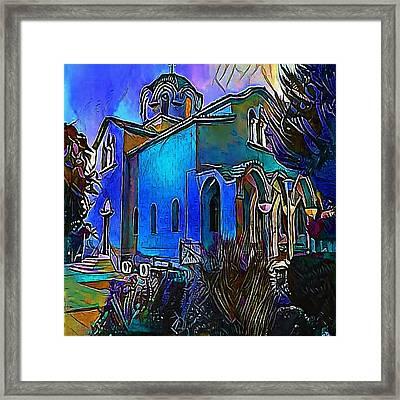 church - My WWW vikinek-art.com Framed Print