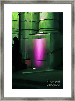 City Hall Pasadena California Framed Print by Clayton Bruster