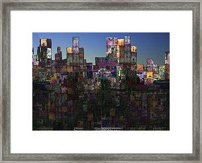 City Sunrise  Framed Print