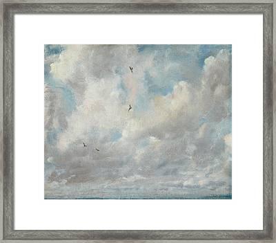 Cloud Study Framed Print by John Constable