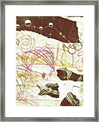 Collage Details Framed Print