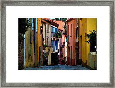 Collioure Framed Print by K C Lynch