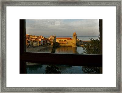 Collioure Sunset Framed Print by K C Lynch