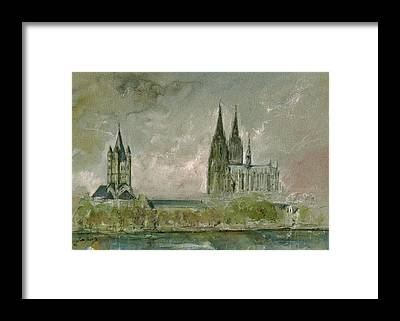 Cologne Framed Prints