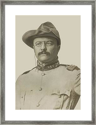 Colonel Theodore Roosevelt Framed Print