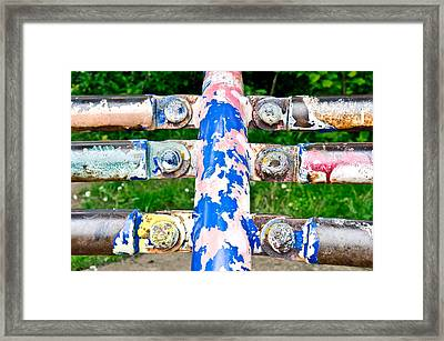 Colorful Metal Framed Print