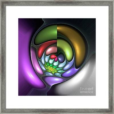 Colorful Framed Print by Steve K
