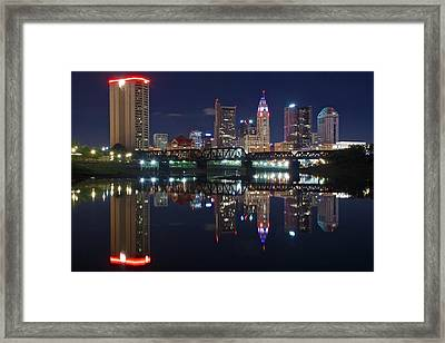 Columbus Ohio Framed Print