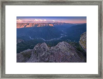Copper Canyon Framed Print