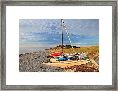 Corn Hill Beach Truro Cape Cod Framed Print by John Burk