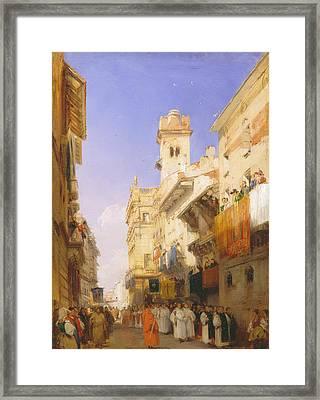 Corso Sant'anastasia, Verona Framed Print