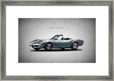 Corvette Stingray Framed Print by Mark Rogan