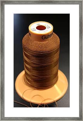 Cottons Threads Framed Print by Adam Sworszt