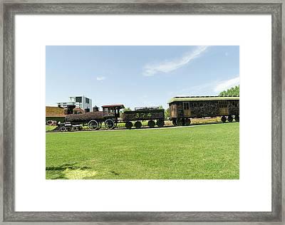 Cpr Train 374 2 Framed Print