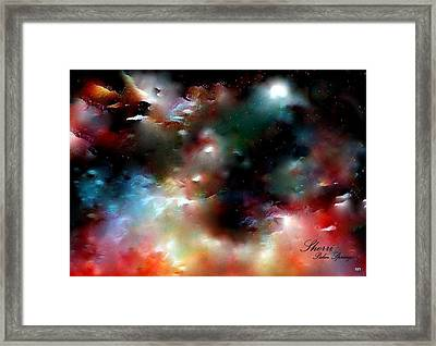 Crystal Universe Framed Print by Sherri's Of Palm Springs